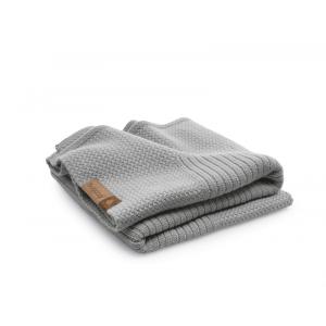 Bugaboo Deken Soft Wool Light Grey Melange