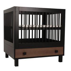 Box Happy Baby Bolero Madera Met Lade Zwart/hout