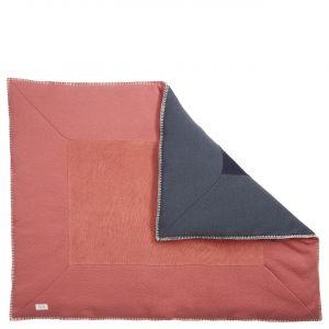 Koeka | Boxkleed Runa 1045/0015 Brique/Dark Grey 80x100