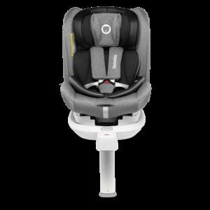 Autostoel Lionelo Braam Stone Grey 0-1-2-3 ISOFIX 360°