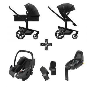 Kinderwagen Joolz Day+ Brilliant Black met Autostoel & Base