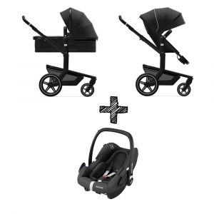 Kinderwagen Joolz Day+ Brilliant Black met Autostoel