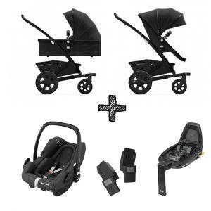 Joolz Geo2 Brilliant Black met Autostoel & Base
