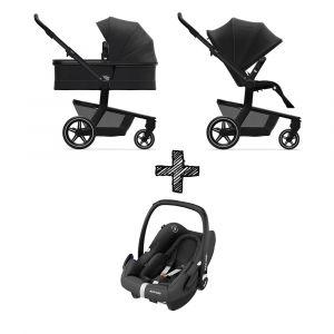 Kinderwagen Joolz Hub+ Brilliant Black met Autostoel