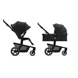 Kinderwagen Joolz Hub+ Brilliant Black met Gratis Wipstoel