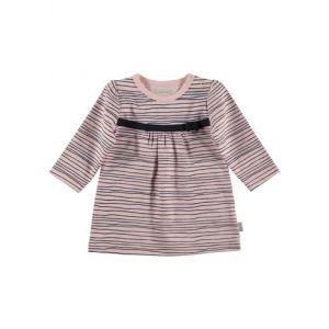 Dress Bess Long Sleeves Pinstripe Pink