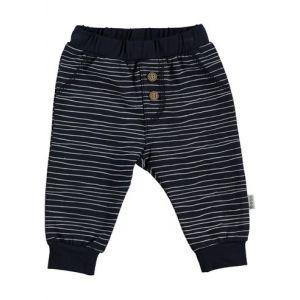 Broek Bess Pants Pinstripe Blue