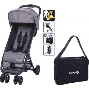 Buggy Safety 1st Teeny Black Chic + Transporttas