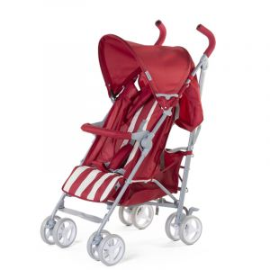 Buggy Childhome Retro Rood/Wit Streep