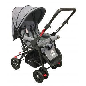 Kinderwagen Babycare Snopy Grey Melange