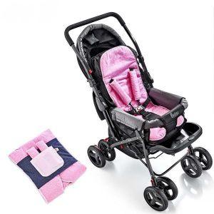Buggy Inlegkussen Lux Babyjem Roze