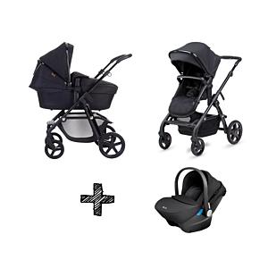 Kinderwagen Silver Cross Wave Special Edition Eclipse + GRATIS Autostoel Silver Cross Simplicity Black