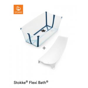 Stokke® Flexi Bath Bundle™ Transparent Blue