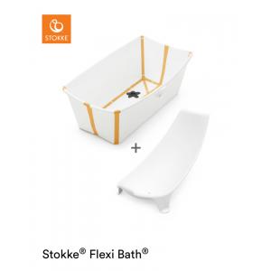 Stokke® Flexi Bath Bundle™ White Yellow