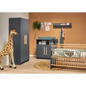 Babykamer Casper 2-deurskast