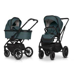 Kinderwagen Cavoe Axo Comfort Lagoon 2in1