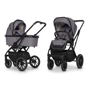 Kinderwagen Cavoe Axo Comfort Plum 2in1