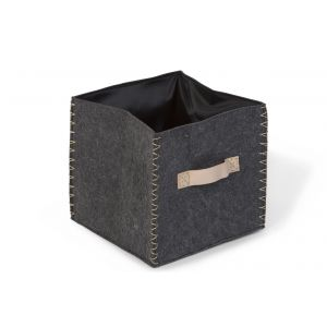 Vilten Opbergbox Childhome Vierkant Anthra/Gold