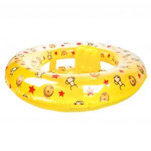 Baby Zwemzitje Geel Circusprint