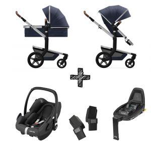 Kinderwagen Joolz Day+ Classic Blue met Autostoel & Base