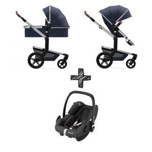 Kinderwagen Joolz Day+ Classic Blue met Autostoel