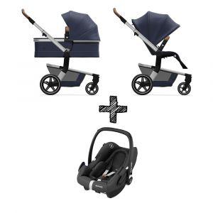 Kinderwagen Joolz Hub+ Classic Blue met Autostoel