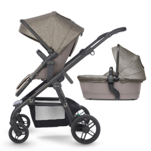 Kinderwagen Silver Cross Coast Tundra + Autostoel Simplicity Granite