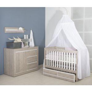 Babykamer Colorado | Ledikant + Commode