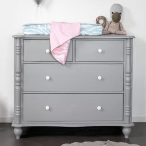 Babykamer Coming Kids Pebbles Grey | Commode