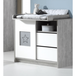Commode Star Grey