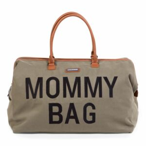 Verzorgingstas Childhome Mommy Bag Groot Kaki