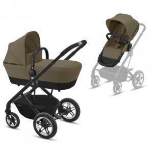 Kinderwagen Cybex Talos S Classic Beige / Mid Beige + Gratis Wipstoel