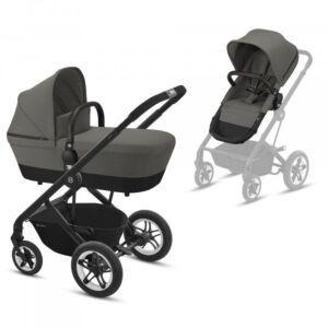 Kinderwagen Cybex Talos S Soho Grey / Mid Grey + Gratis Wipstoel