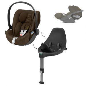 Set | Autostoel Cybex Cloud Z I-Size PLUS Khaki Green/Khaki Brown + Cybex Base Z