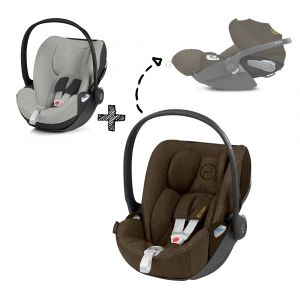 Autostoel CYBEX Cloud Z I-Size Plus Khaki Green/Khaki Brown met Gratis Summercover