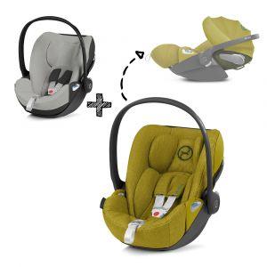Autostoel CYBEX Cloud Z I-Size Plus Mustard Yellow/Yellow met Gratis Summercover