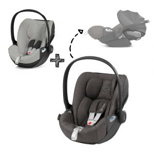 Autostoel CYBEX Cloud Z I-Size Plus Soho Grey/Mid Grey met Gratis Summercover