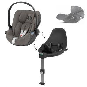 Set | Autostoel Cybex Cloud Z I-Size Soho Grey/Mid Grey + Cybex Base Z