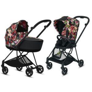 Kinderwagen CYBEX MIOS Fashion Edition Spring Blossom Dark