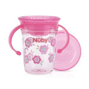 Nuby | Drinkbeker Wonder Tritan Pink