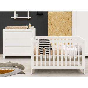 Babykamer Bopita Thijn Ledikant + Commode