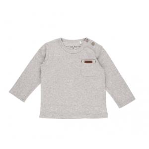Shirt Little Dutch Melange Grey