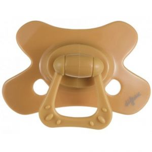 Fopspeen Difrax Dental Uni Geel 6+mnd