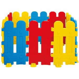 Veiligheidshek 10 stuks hoogte 80 cm Red/Blue/Yellow