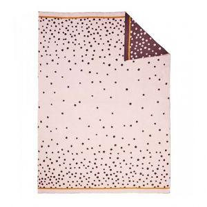 Deken Knitted Blanket Done by Deer 80x100 Happy Dots Powder