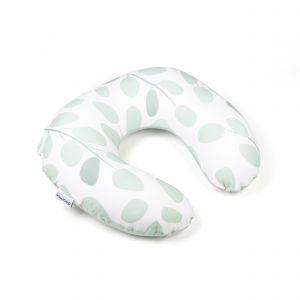 Voedingskussen / Zwangerschapskussen Doomoo Softy Leaves Aqua Green