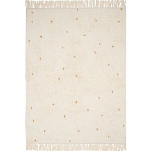 Vloerkleed Little Dutch Dot Pure Natural / Ochre 120x170cm