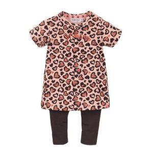 Set 2-delig Dirkje DICFE21 Dress Panther Smokey Pink/Smokey Grey