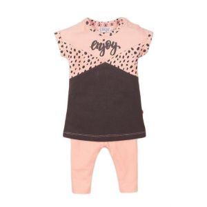 Set 2-delig Dirkje DICFE21 Dress All-over Smokey Pink/Smokey Grey
