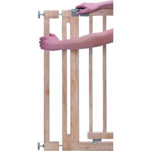 Verlengstuk 8cm Traphek Safety 1st. Easy Close Wood